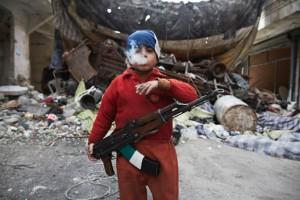 Семирічний повстанець у Сирії