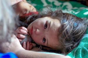 Дівчинка, яка заблукала у лісі і блукала 11 днів