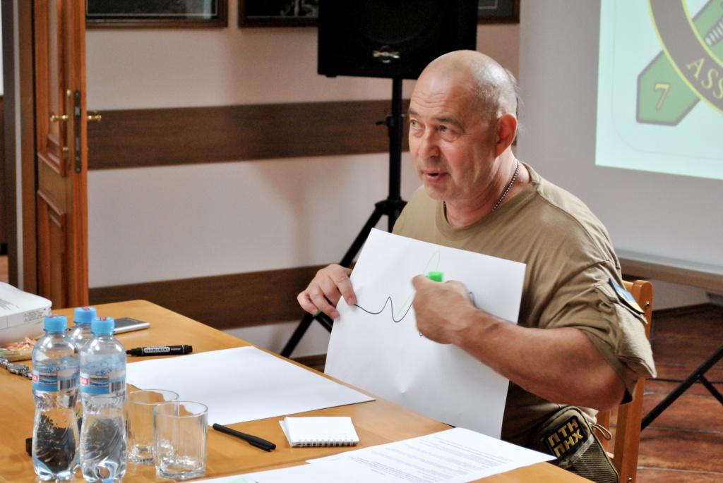 У Тернополі Олег Покальчук проводить тренінг для волонтерів
