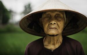 Рисовий фермер у В'єтнамі