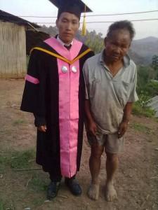 Син бідного фермера отримав вищу освіту