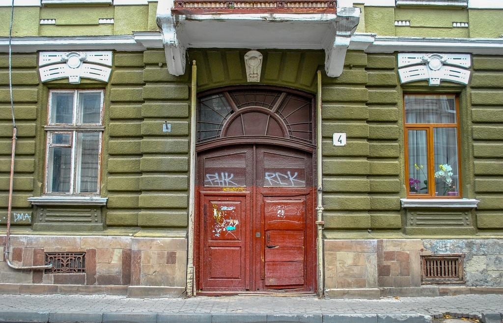 Тернопіль, двері і час