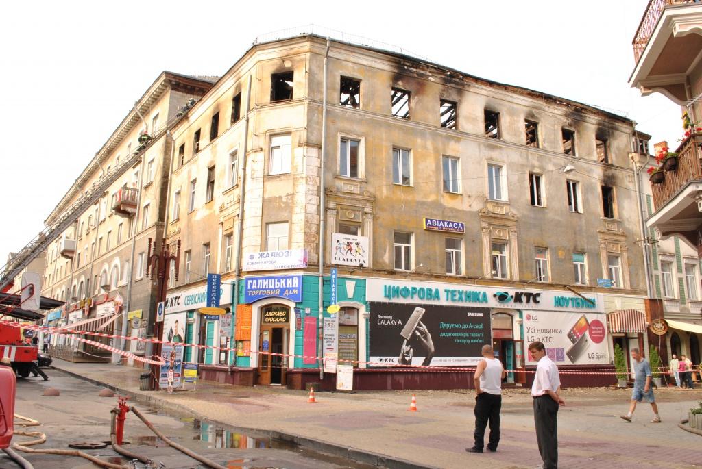 По пожежі на Сагайдачного створили депутатську комісію
