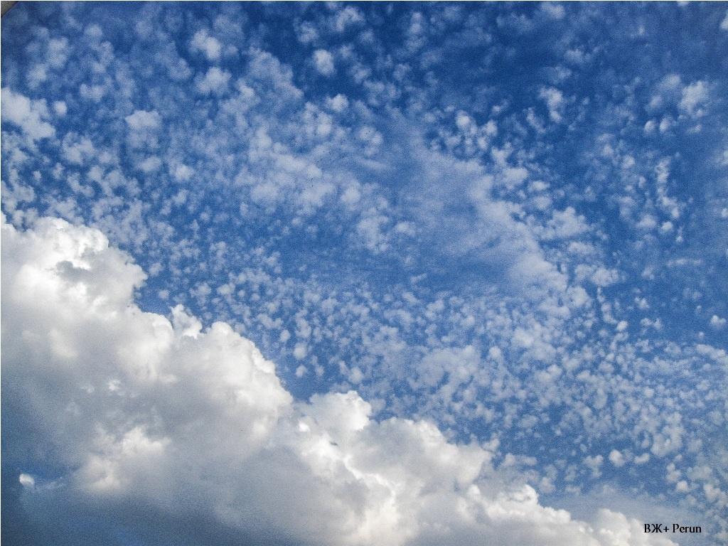 Небо. Хмари. Гардероб