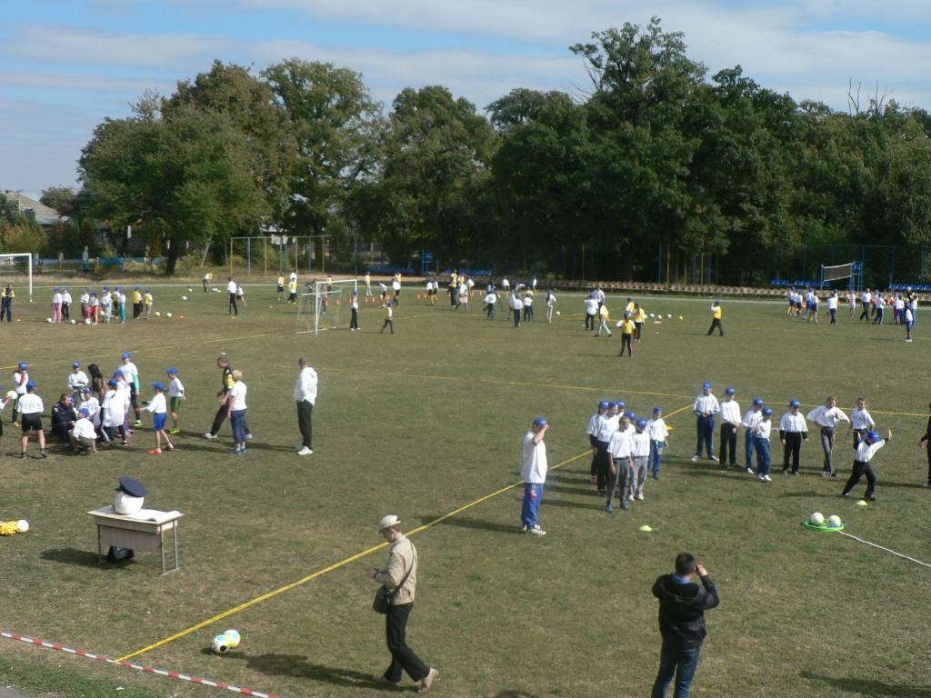 Відкриті уроки футболу