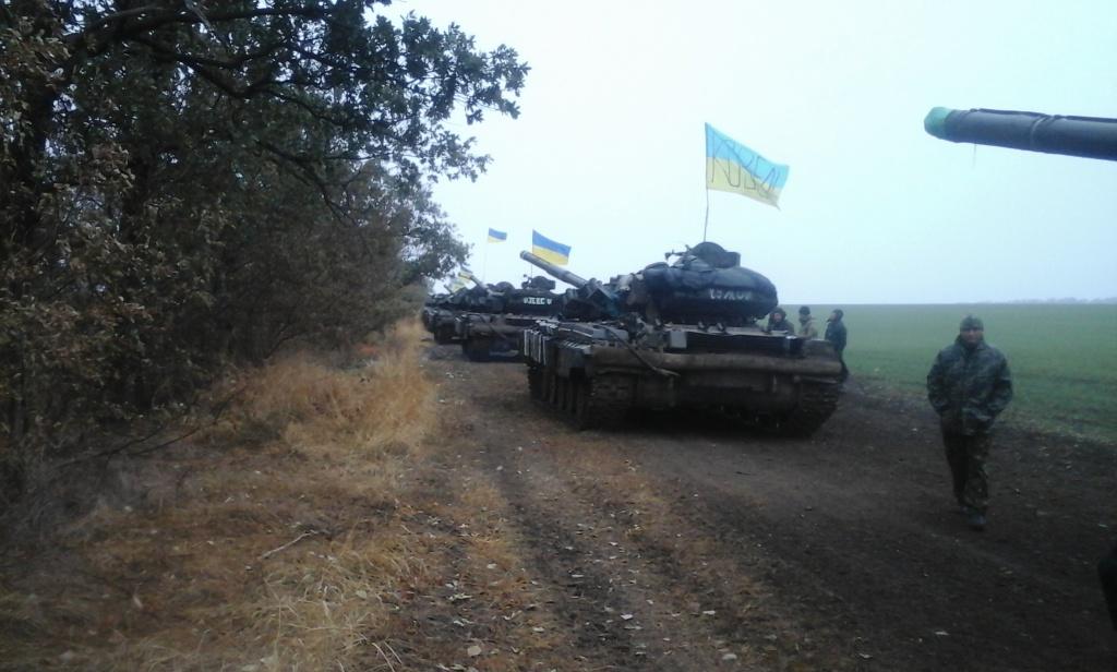 Танки 14-ої бригади відійшли з передової