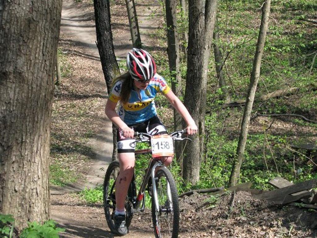 Осінні старти майстринь гірського велосипеда