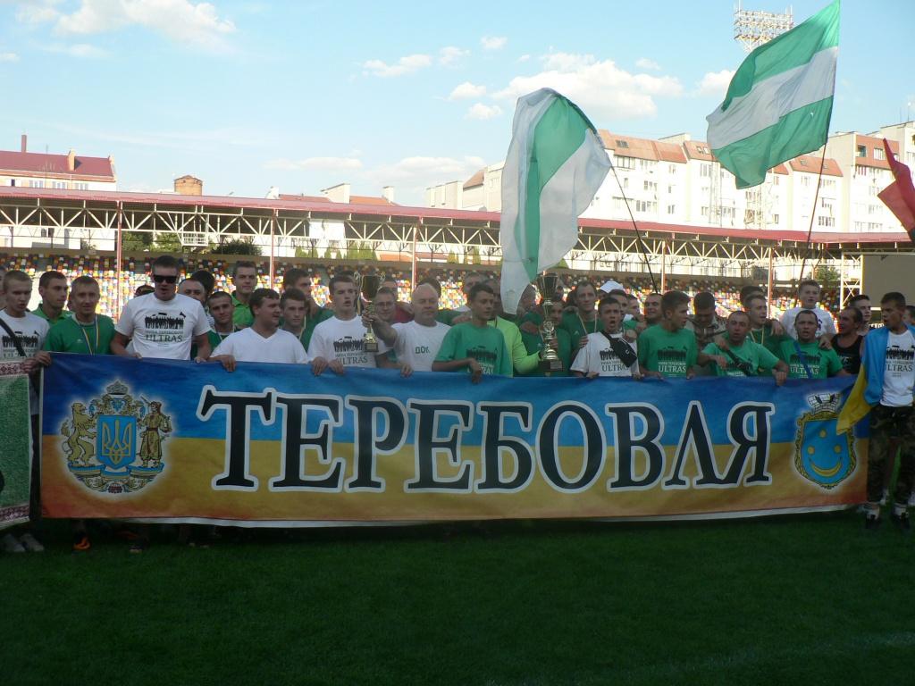 Очікуване чемпіонство теребовлянської «Ниви»