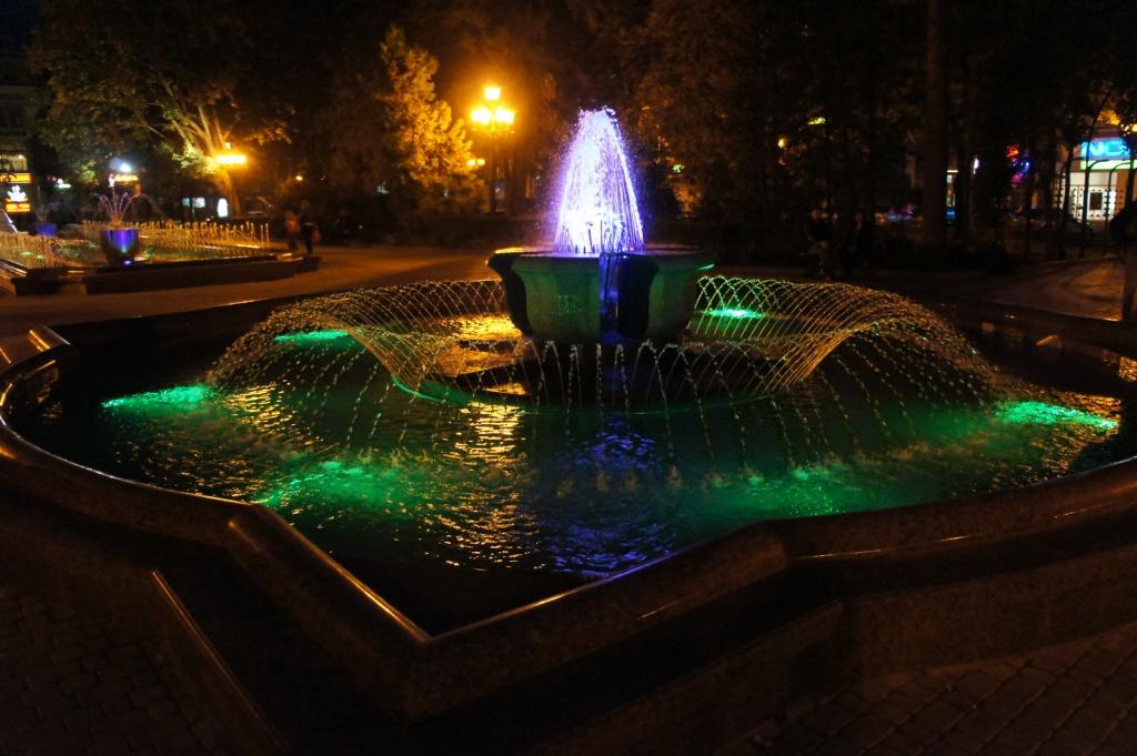 Тернопільські фонтани працюватимуть під час свят