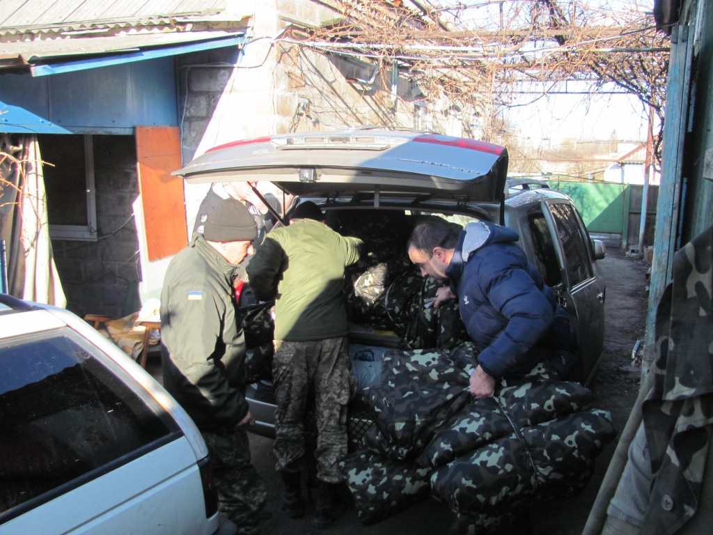 Військовим 14-ї бригади пошили форму на замовлення