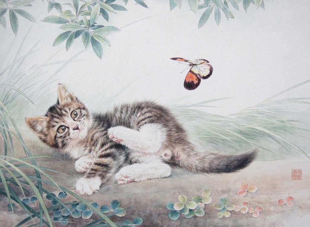Ніжні картини тварин