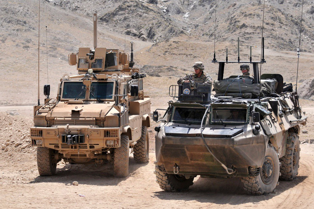 ISAF_vehicles_in_Afghanistan