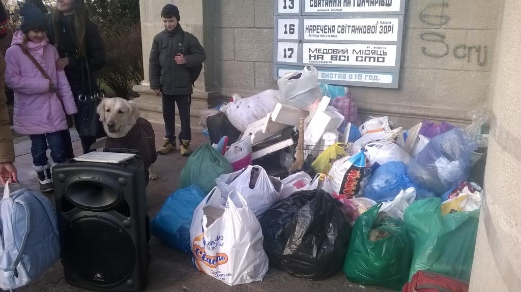 У Тернополі відбулася благодійна акція «Нагодуй та зігрій»