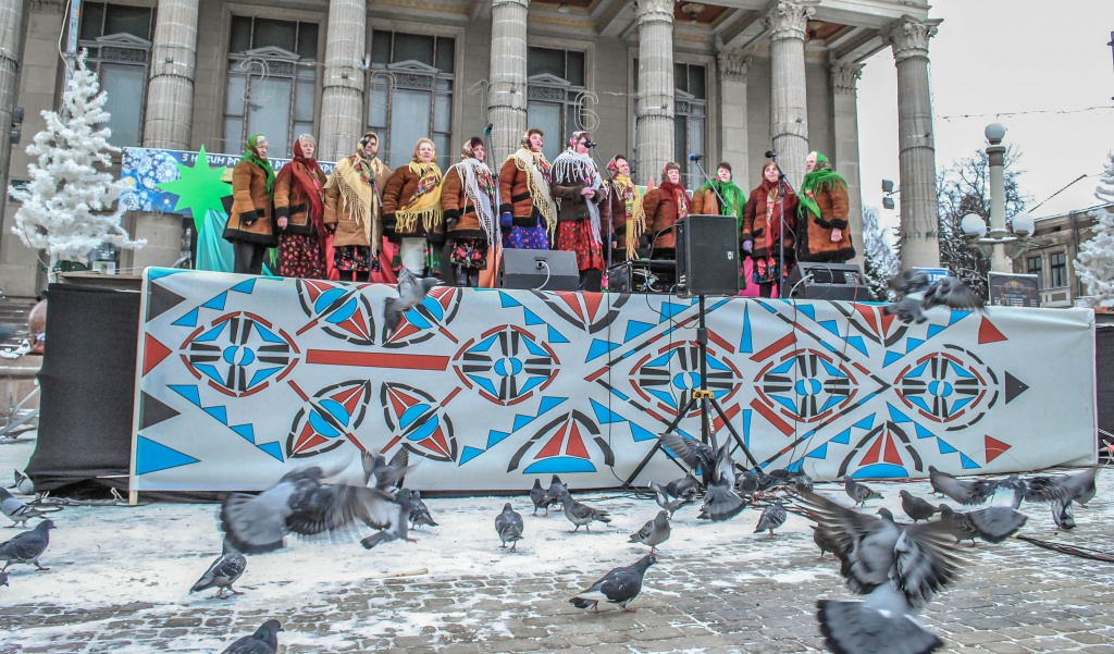 У Тернополі виступали вертепи з усієї області