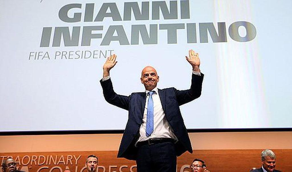Новий президент ФІФА