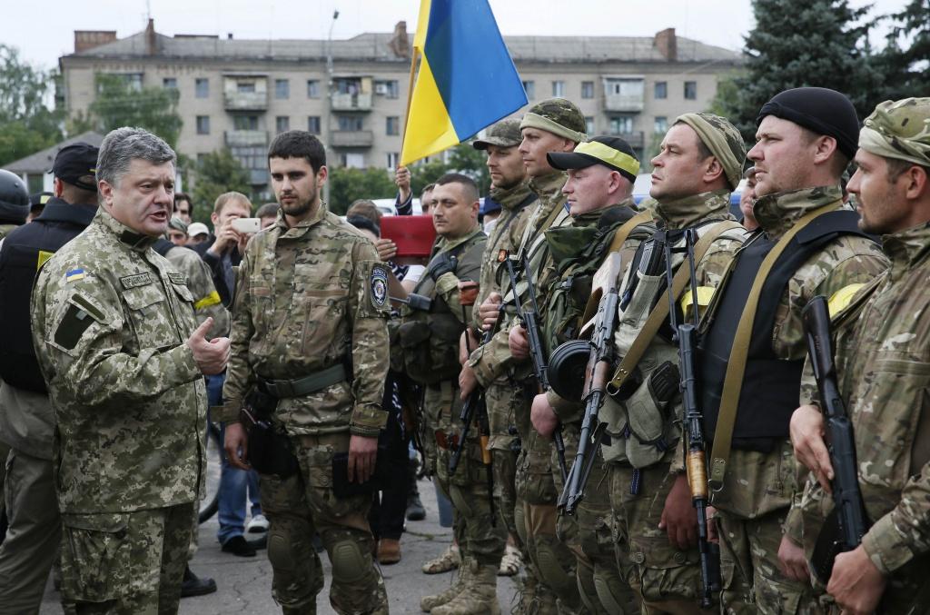 Українська армія проводить набір на контрактну службу