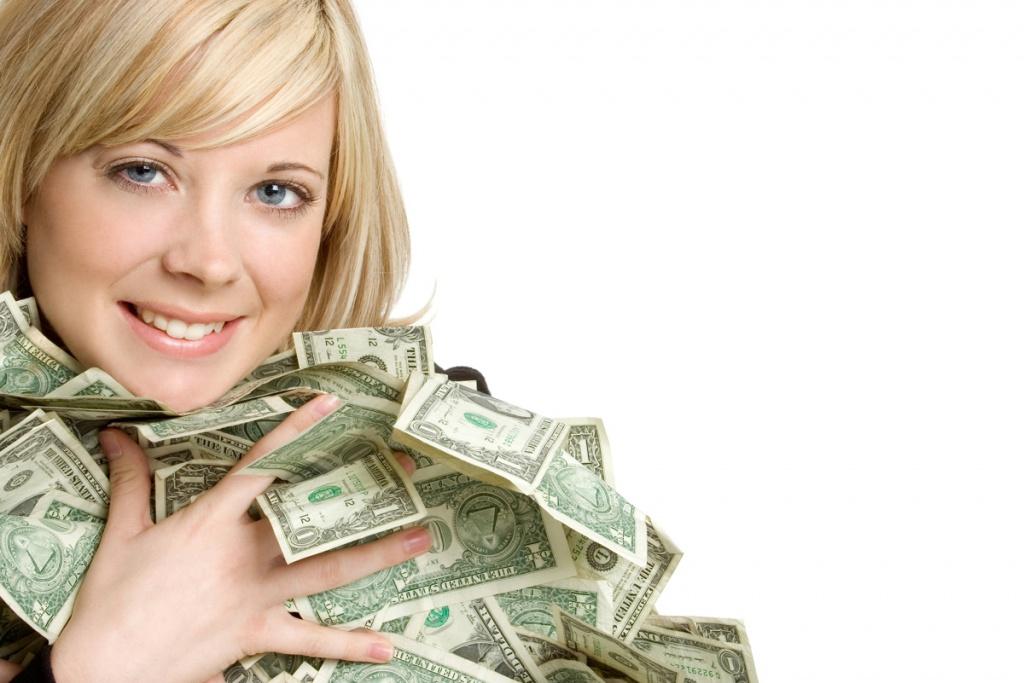 Гроші — тільки жінкам