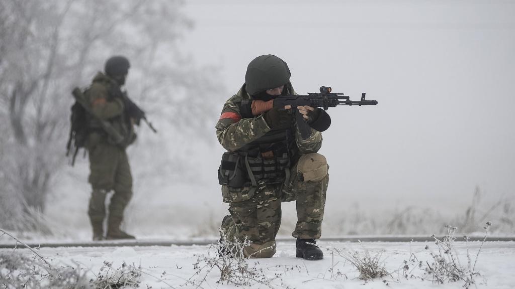 Після закінчення роботи ОБСЄ бойовики застосували важку артилерію