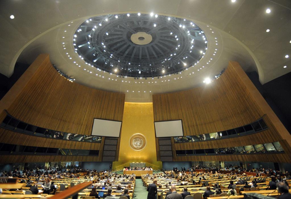 Українська школярка виступила з промовою на урочистому відкритті Генасамблеї ООН