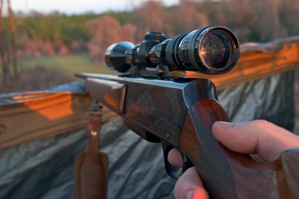 Серед зброї — і мисливські рушниці, і газові пістолети