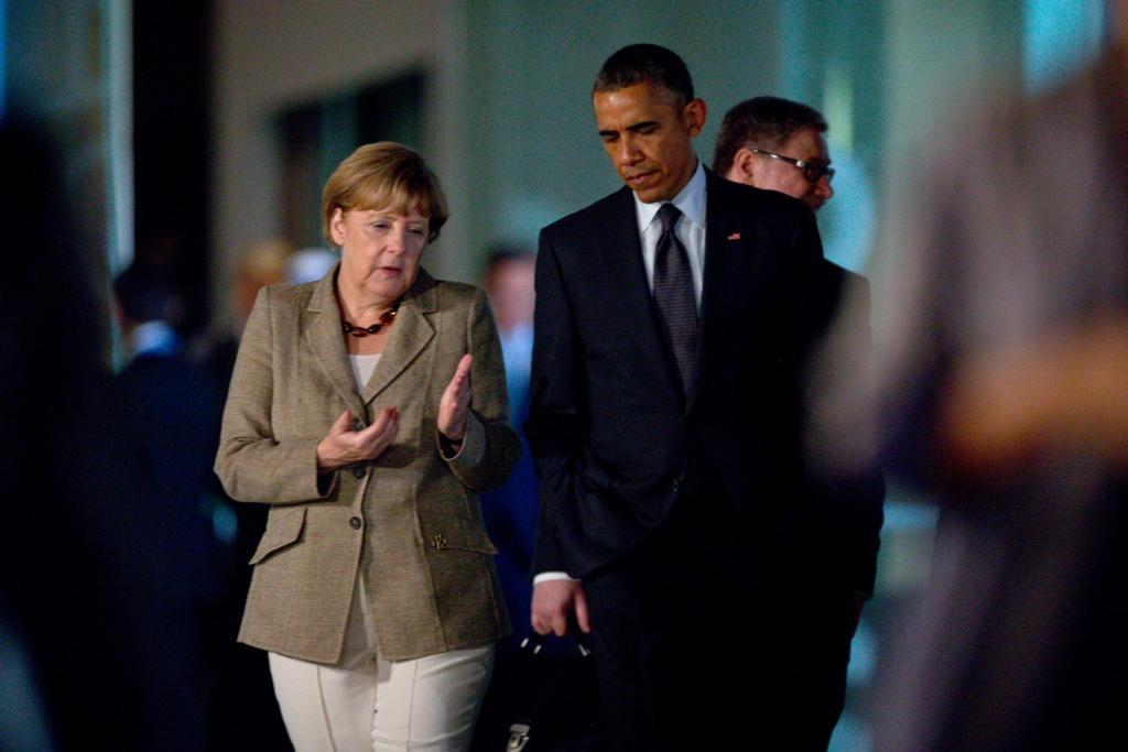 У центрі переговорів Меркель та Обами – вільна торгівля і кризи в Сирії та Україні