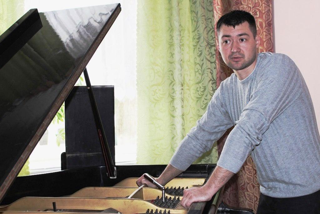 Будні фортепіанного майстра-реставратора