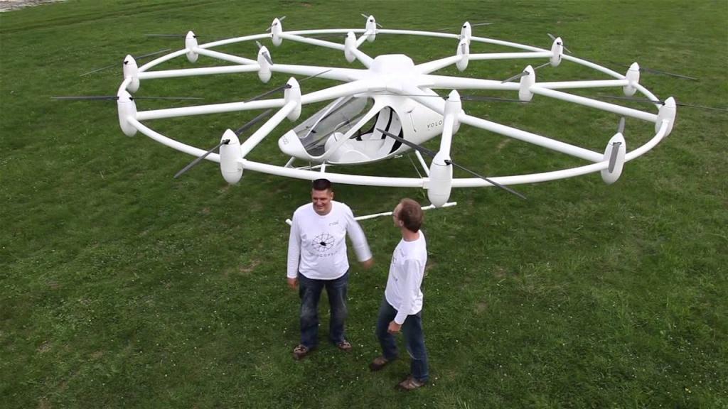 В Німеччині презентували гібрид дрону та вертольоту