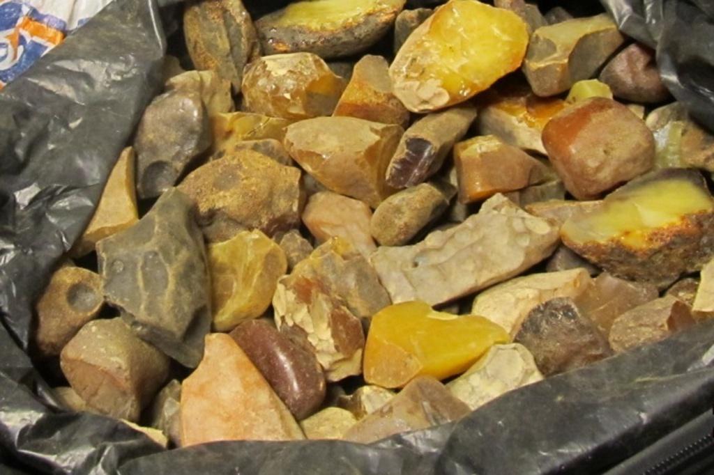 У Рівному СБУ вилучила 10 кг бурштину на півмільйона гривень