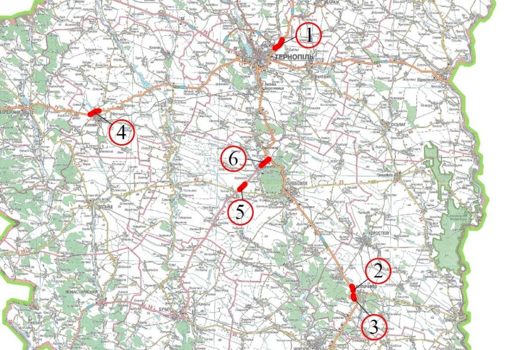 Скоротили кількість об'єктів, які ремонтуватиме Служба автодоріг у Тернопільській області
