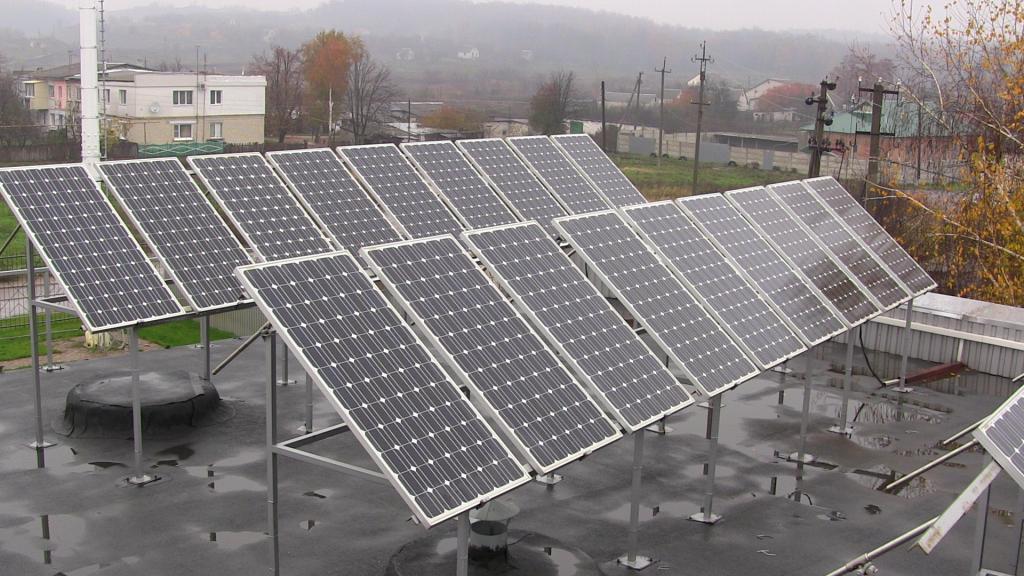У Тернополі сонячних ЕС на дахах не буде