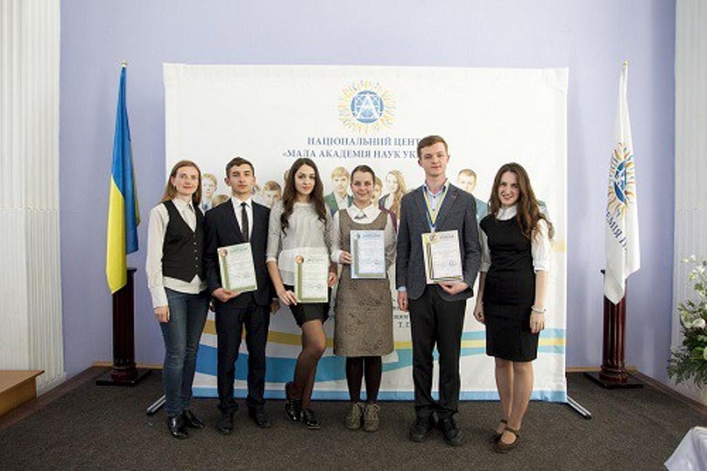 Тернополяни здобули перемогу на конкурсі-захисті науково-дослідницьких робіт