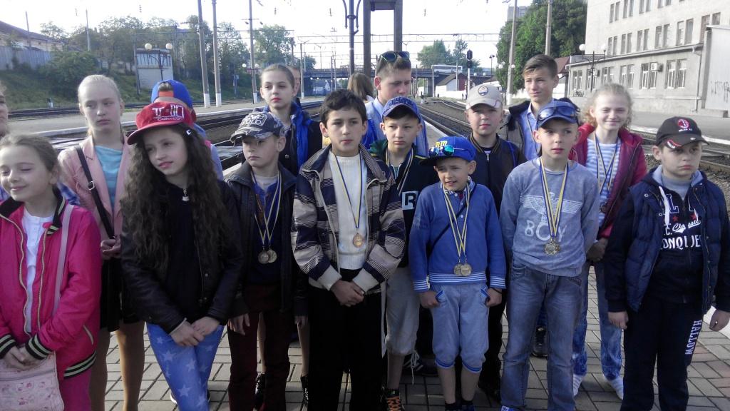 Щедрий урожай медалей із Коблево