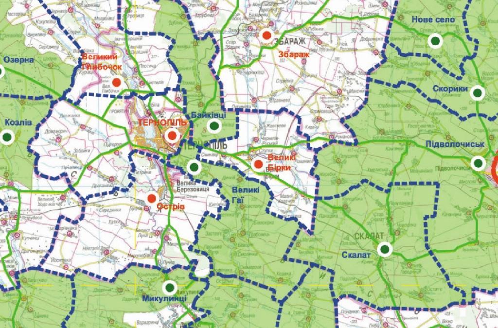 На Тернопіллі буде 49 громад?