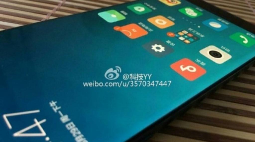 Живі фотографії Xiaomi Mi Note 2 з вигнутим дисплеєм