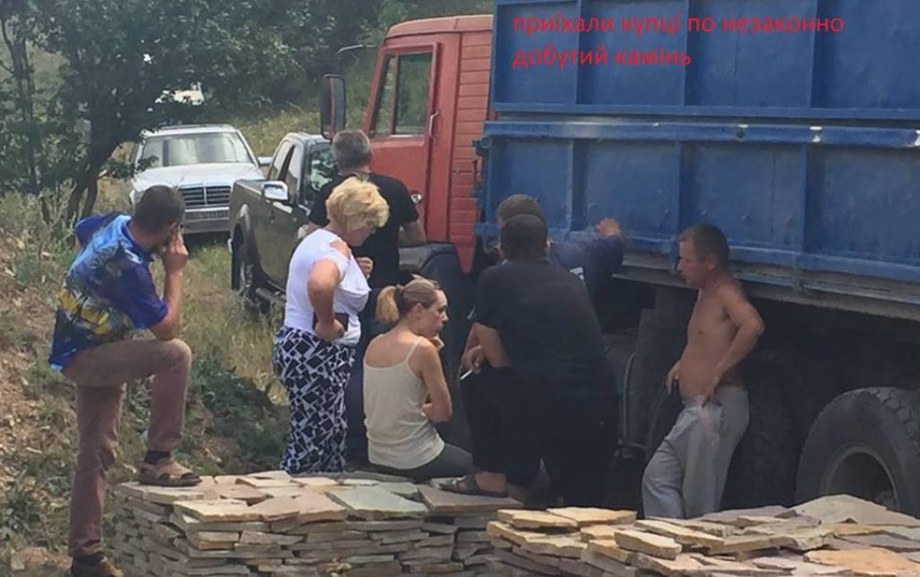На Теребовлянщині незаконно видобувають камінь