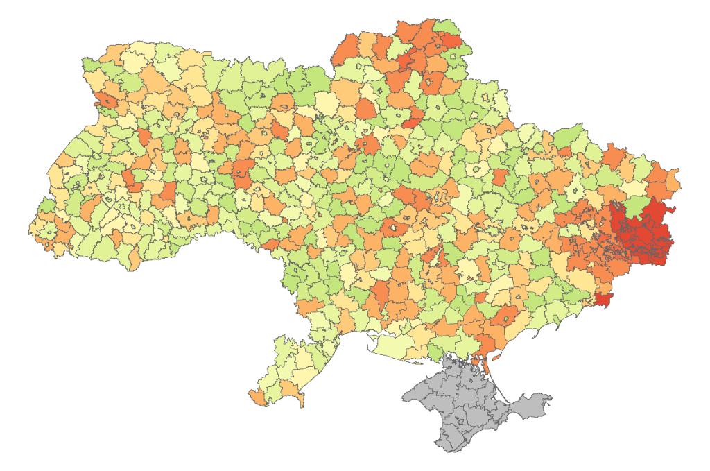 Українська демографія: що змінилося за 25 років