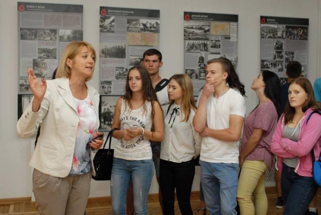 У краєзнавчому музеї діє виставка про Другу світову війну