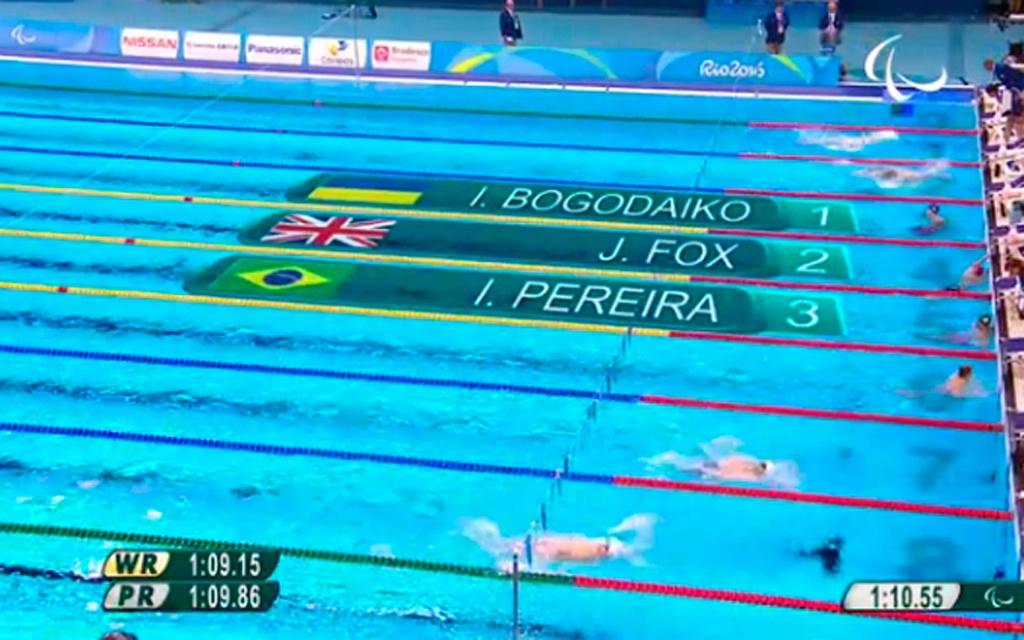 Олімпійців уже на старті практично наздогнали