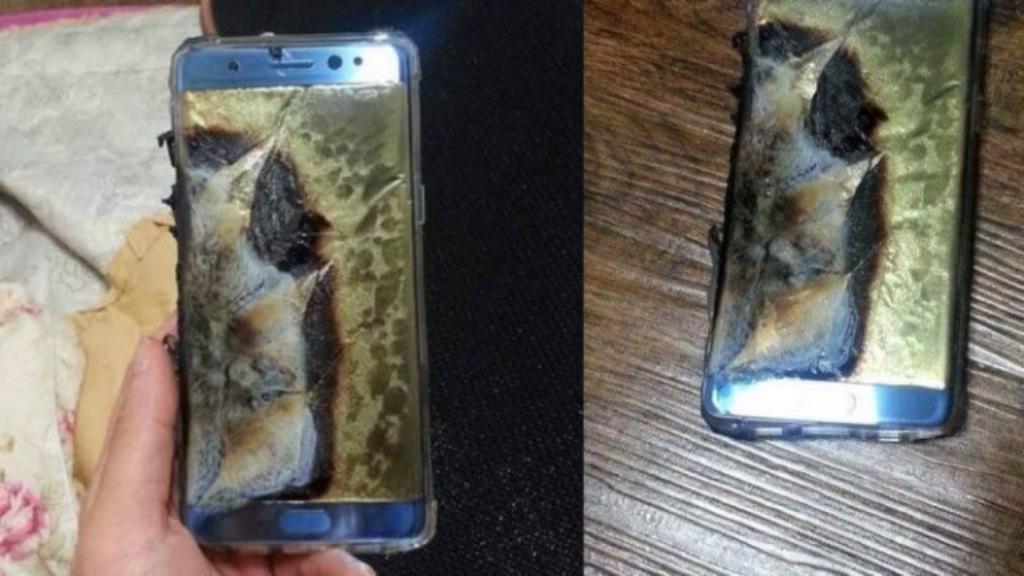 Samsung відкликає партію смартфонів Galaxy Note 7 через випадки самозаймання