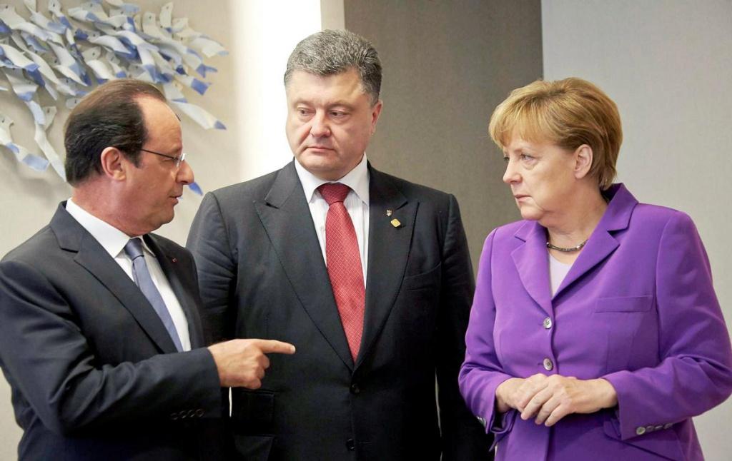 Лідери України, Франції та Німеччини скоординують позиції на тристоронній зустрічі перед самітом у нормандському форматі в Берліні