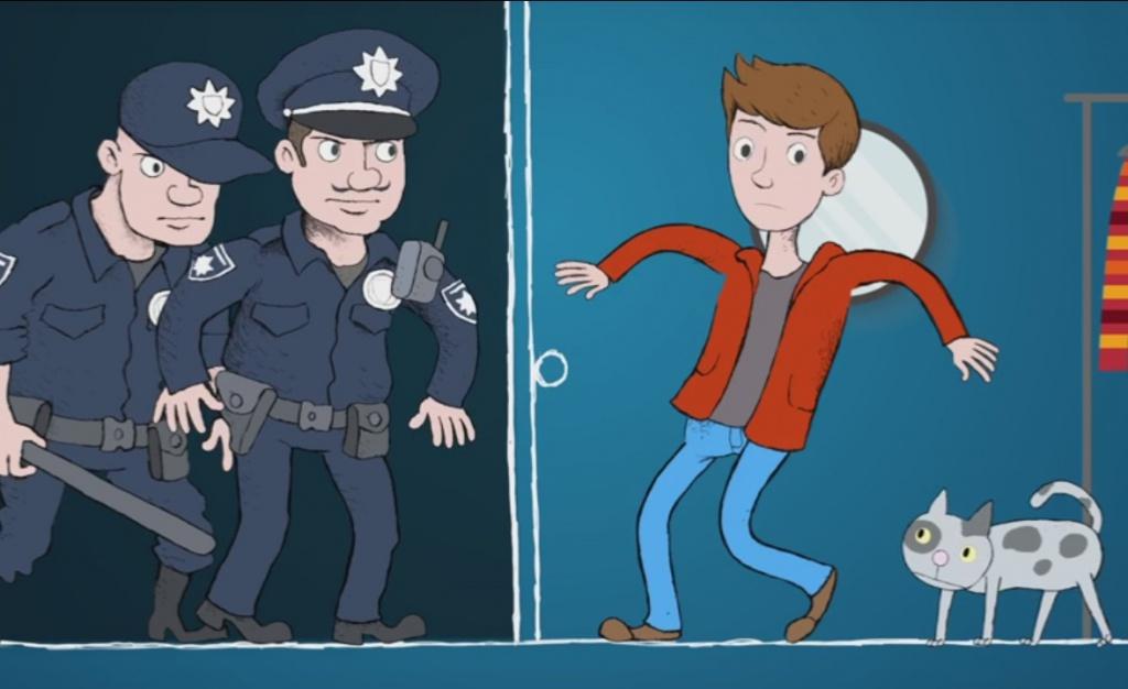 У Тернополі транслювали правознавчий мультфільм для підлітків