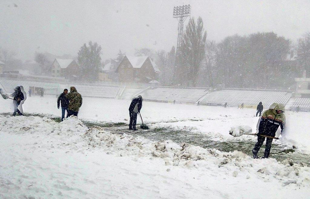 За такої погоди і в хокей не дуже пограєш