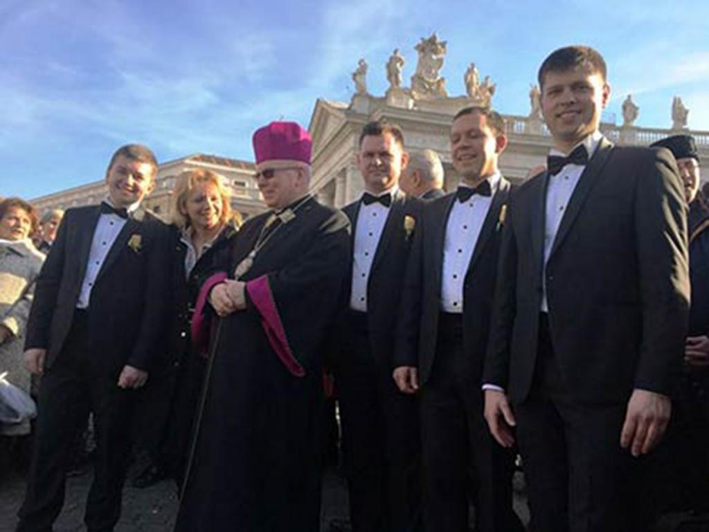 Тернополяни колядували в Римі