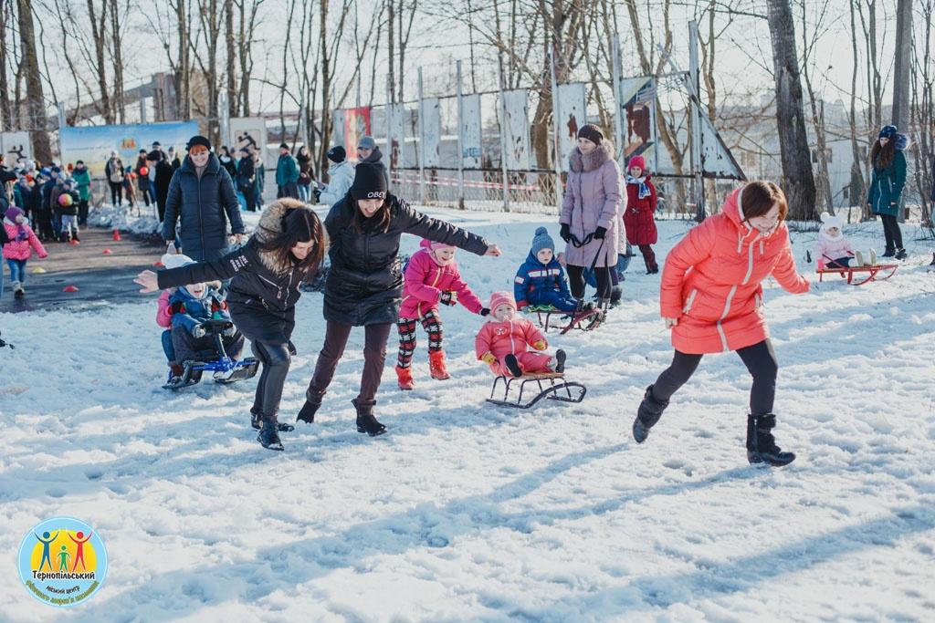 Зимові забави для всіх і для кожного