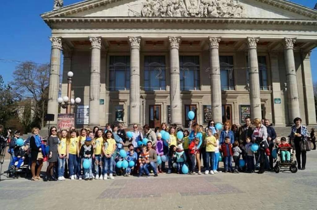 У Тернополі – соціальна акція на підтримку дітей з аутизмом
