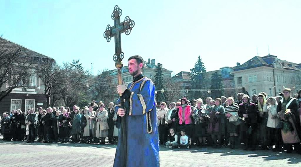 Християни об'єдналися в молитві за мир