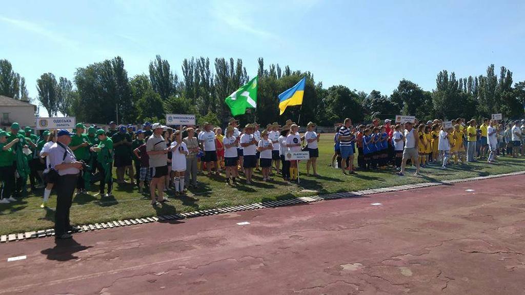 Всеукраїнські старти «Колоса»