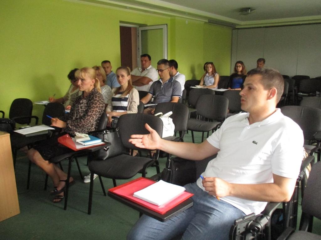 У Тернополі вчилися розробляти програму для малого підприємництва