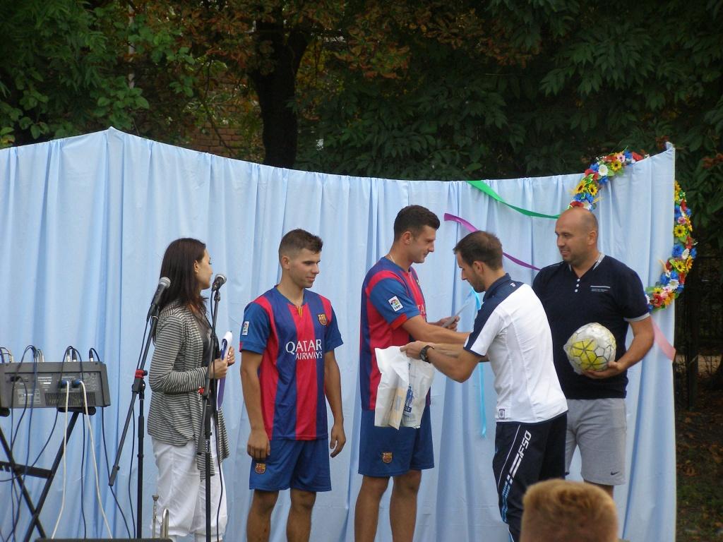 В Остап'є і Поділлі — дворовий футбол