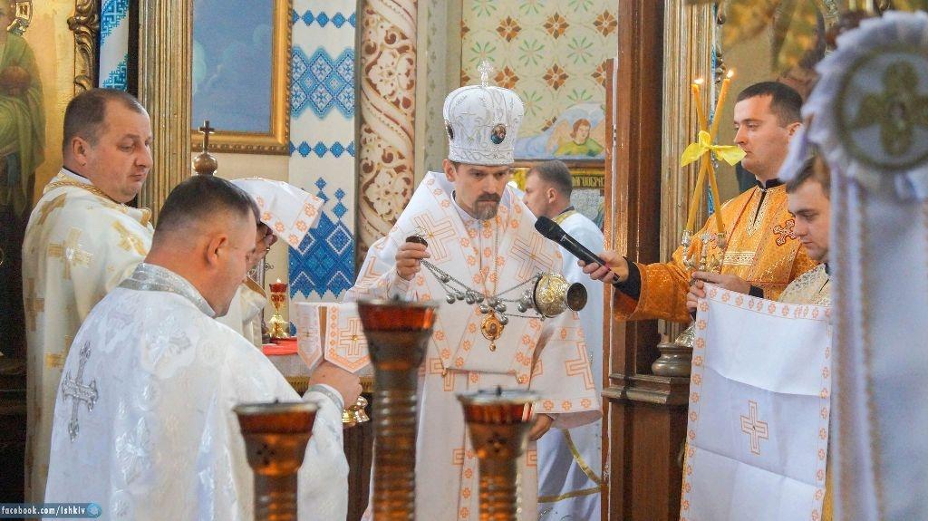 Храмовий празник з єпископом